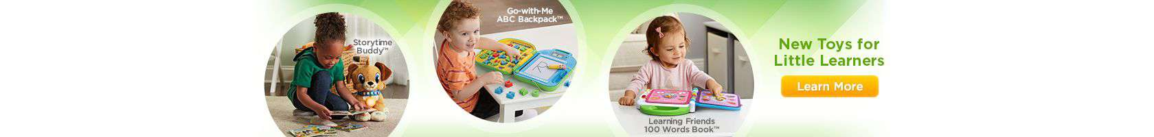 LeapFrog SG-New Toys for Little Learners-Banner