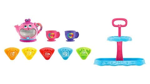Musical Rainbow Tea Party (With Cake Stand)