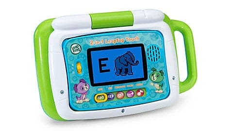 LeapFrog SG-2-in-1 LeapTop Touch-Green 4