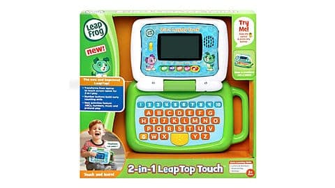 LeapFrog SG-2-in-1 LeapTop Touch-Green 5