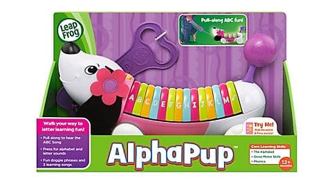 LeapFrog SG-Alpha Pup Purple 3