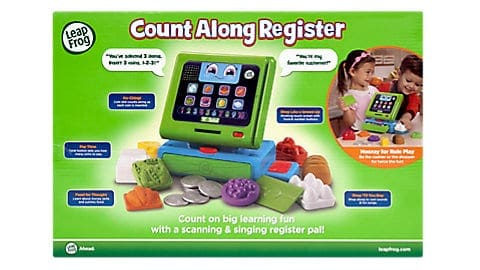 LeapFrog SG-Count Along Cash Register 3