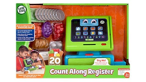 LeapFrog SG-Count Along Cash Register 4