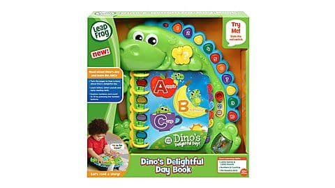 LeapFrog SG-Dinos Delightful Day Book 3