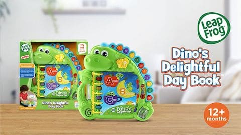 LeapFrog SG-Dinos Delightful Day Book-Video