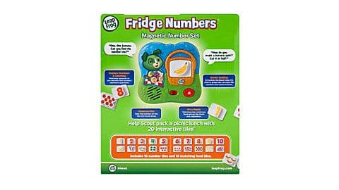 LeapFrog SG-Fridge Numbers Magnetic Set 6