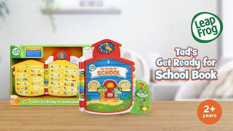 LeapFrog SG-Get Ready For School Book-Video