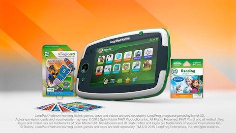 LeapFrog SG-LeapPad Platinum Tablet-Video
