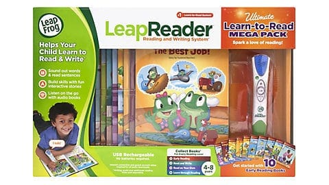 LeapFrog SG-LeapReader Learn to Read Bundle 5