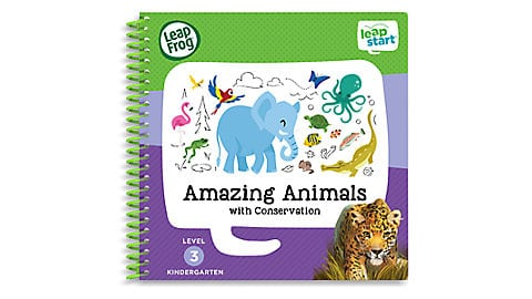 LeapFrog SG-LeapStart Amazing Animals with Conservation