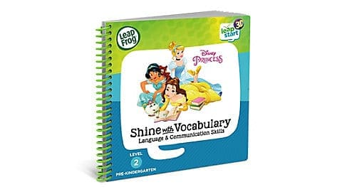 LeapFrog SG-LeapStart Disney Princess Shine with Vocabulary 2