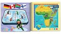 LeapFrog SG-LeapStart Kids' World Atlas with Global Awareness-Details 5