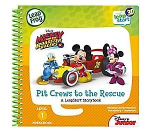 LeapFrog SG-LeapStart Mickey and the Roadster Racers Pit Crews to the Rescue 1