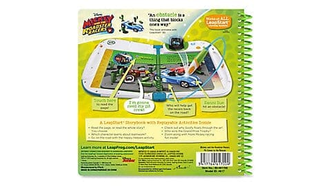 LeapFrog SG-LeapStart Mickey and the Roadster Racers Pit Crews to the Rescue 7