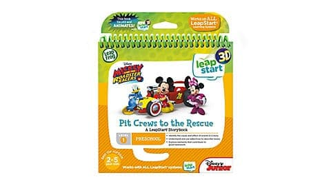 LeapFrog SG-LeapStart Mickey and the Roadster Racers Pit Crews to the Rescue 9