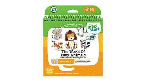 LeapFrog SG-LeapStart Pre-School The World of Baby Animals 1