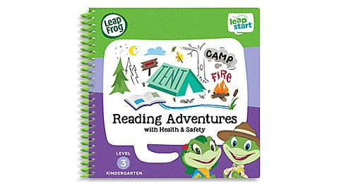 LeapFrog SG-LeapStart Reading Adventures with Health and Safety 5