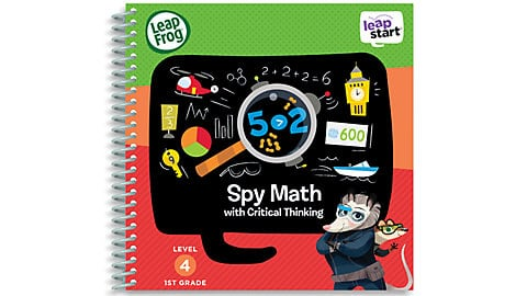 LeapFrog SG-LeapStart Spy Math with Critical Thinking 5