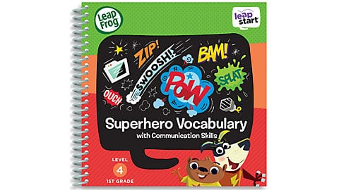 LeapFrog SG-LeapStart Superhero Vocabulary with Communication Skills 5
