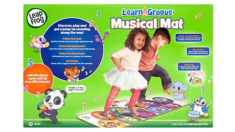LeapFrog SG-Learn and Groove Musical Mat 4