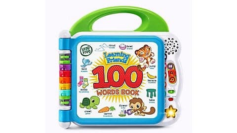 LeapFrog SG-Learning Friends 100 Words Book 1