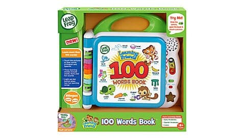 LeapFrog SG-Learning Friends 100 Words Book 4