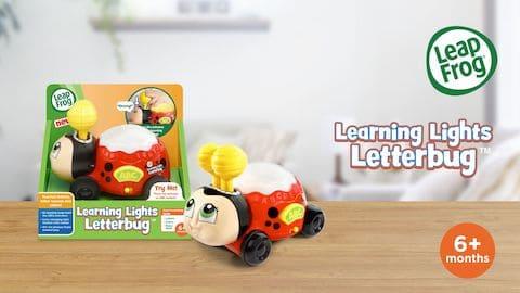 LeapFrog SG-Learning Lights Letterbug-Video