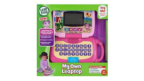 LeapFrog SG-My Own Leaptop Pink 3