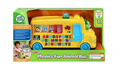 LeapFrog SG-Phonics Fun Animal Bus 2