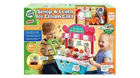 LeapFrog SG-Scoop and Learn Ice Cream Cart 6