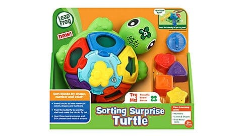LeapFrog SG-Sorting Surprise Turtle 4