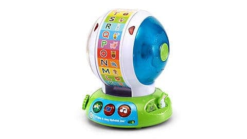 LeapFrog SG-Spin and Sing Alphabet Zoo 1
