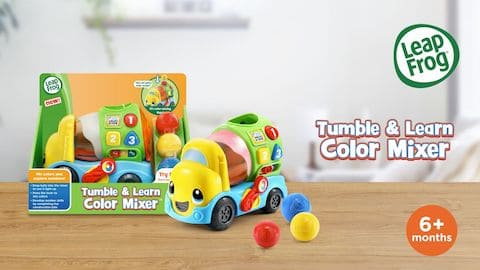 LeapFrog SG-Tumble and Learn Colour Mixer-Video