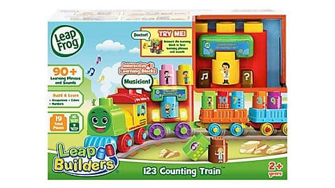 LeapFrog SG-LeapBuilders 123 Counting Train 4