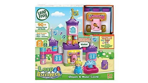 LeapFrog SG-LeapBuilders Shapes and Music Castle 3