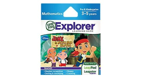 LeapFrog SG-Jake and the neverland pirates 8