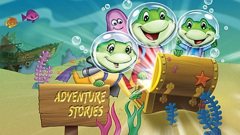 LeapFrog SG-learn to read adventure stories ultra 1 Video