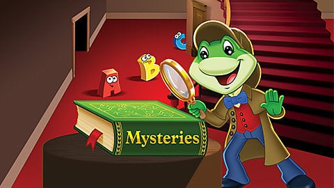 LeapFrog SG-learn to read mysteries 1 Video