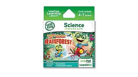 LeapFrog SG- letter factory rainforest 8
