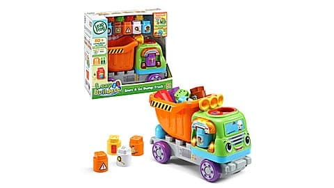 LeapBuilders Store and Go Dump Truck