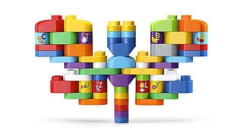 LeapBuilders® 81-Piece Jumbo Blocks Box™