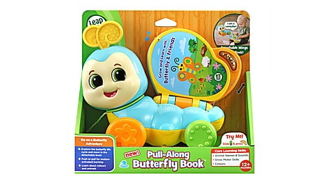 Pull-Along Butterfly Book™